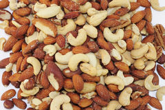 Bed of Nuts Stock Image