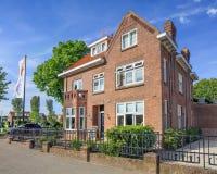 Bed & ontbijt, restaurant, hotelvilla Pastorie in Piushaven, Tilburg, Nederland Royalty-vrije Stock Foto