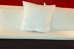 Bed Pillows royalty free stock photos