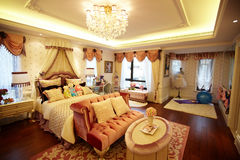 Bed room. Shot of a luxurious bed  room Royalty Free Stock Photos