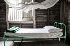 Bed in the room Royalty Free Stock Photography