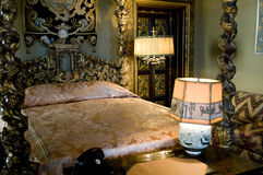 Bed room, Hearst castle Royalty Free Stock Photo