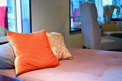 Bed room interior. Shallow DOF Stock Image