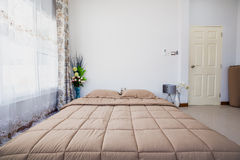 Bed room interior decoration modern designed. Royalty Free Stock Photography