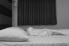 Bed room interior Stock Photo