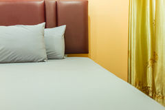 The bed room style modern. Royalty Free Stock Photos