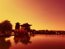 Chinese ancient architecture appreciation royalty free stock image