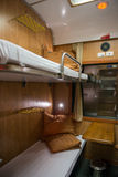 4-bed sleeper train Royalty Free Stock Photography