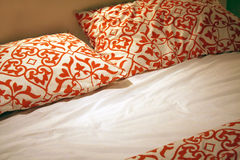 Bed spread Royalty Free Stock Photos