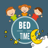 Bed time Royalty Free Stock Photography