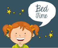 Bed time Stock Photos