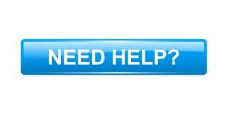 Bedarfs-Hilfe-Taste Lizenzfreie Stockfotos