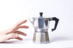 Bedarfs-Kaffee Stockfoto