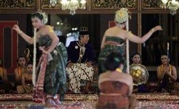 Bedaya Ketawang Dance Royalty Free Stock Photography