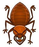 Bedbug κινούμενων σχεδίων Στοκ Φωτογραφία