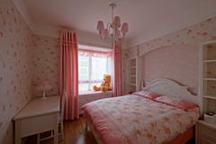 Bedchamber Royalty Free Stock Photos