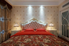 Bedchamber Royalty Free Stock Photography