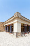 Bedchamber of Knossos Royalty Free Stock Photography