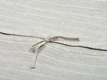 Bedclothes detail Stock Photography