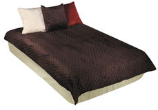 Bedclothes isolados imagens de stock royalty free