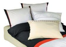 Bedclothes isolados imagem de stock royalty free