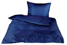 Bedclothes isolated on white. With clipping path Royalty Free Stock Photos