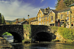 Beddgelert bridge, North Wales royalty free stock photography