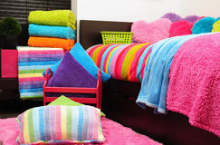 Bedding. Royalty Free Stock Image
