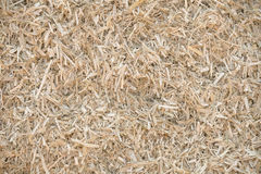 Bedding for the cattle. Natural straw background Stock Images