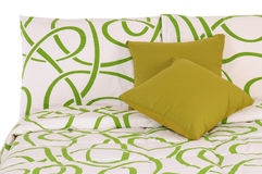 Bedding. Isolated Royalty Free Stock Photo