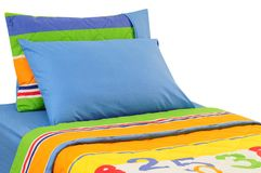 Bedding. Isolated Stock Photography