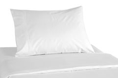 Bedding. Isolated Royalty Free Stock Photography