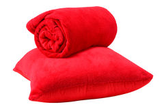 Bedding objects. Royalty Free Stock Photo