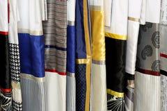 Bedding samples Stock Photos
