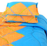Bedding set. Isolated Stock Images