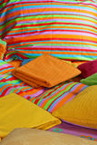 Bedding and sheets Royalty Free Stock Photos