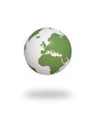 Bedecken Sie Ökologie 3d CG mit Erde vektor abbildung