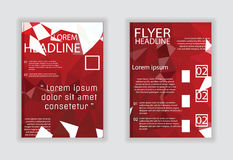 Bedecken Sie Broschürenflieger-Zeitschriftenplakat in der Größe A4 Lizenzfreie Stockbilder