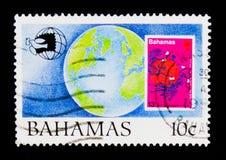 Bedecken Sie keine 359, Ausstellung 89 serie, circa 1989 mit Erde Lizenzfreie Stockbilder