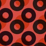 Bedeckungsnahtloses Muster der farbkreise Lizenzfreies Stockfoto