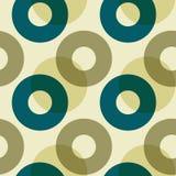 Bedeckungsnahtloses Muster der farbkreise Stockbild