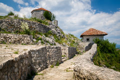Bedem big medieval fortress in Niksic, Montenegro Stock Photos