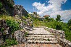 Bedem-Festungsruinen Stockbild