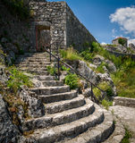 Bedem fortress in Montenegro Royalty Free Stock Photos