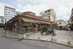 Bedestenmarkt Thessaloniki Royalty-vrije Stock Foto