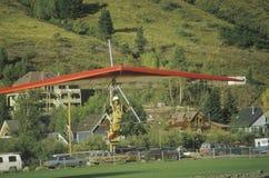 Bedeutungs-Segelflugzeug Stockbild