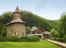 Bedevaart bij Klooster Prislop, Roemenië stock fotografie