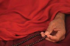 Bedevaart van Boeddhisme in Bagan stock foto