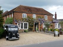 The Bedford Arms public house, Latimer Road, Chenies royalty free stock photo