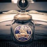 Bedford Badge Gemaakt in Engeland stock foto
